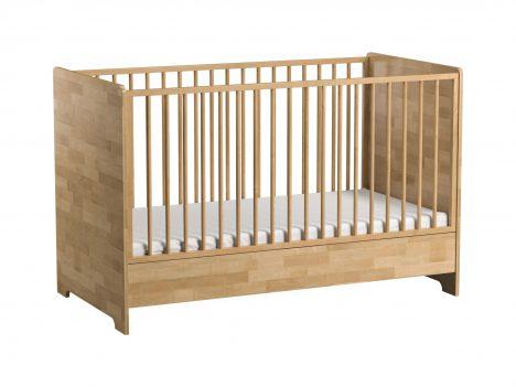 Łóżeczko drewniane 140×70 – Betula