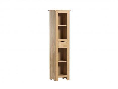 Regał wysoki z szufladą – Betula