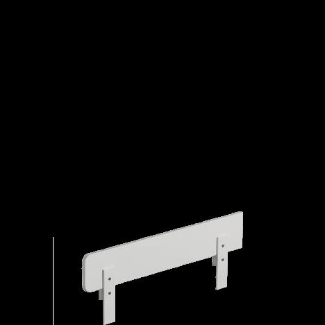 Barierka ochronna  biała do łóżeczka 140×70