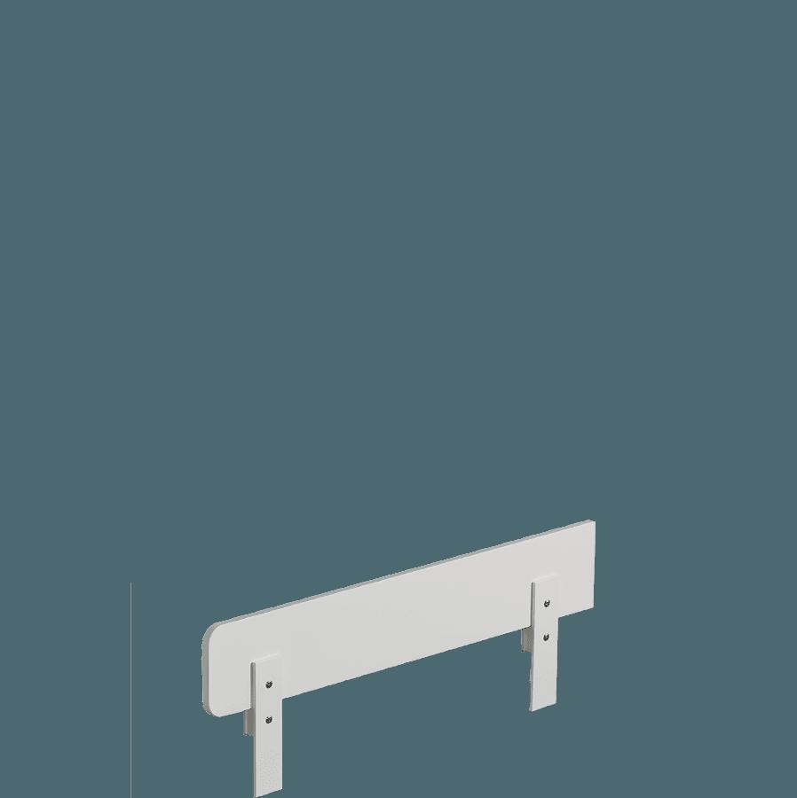Biała Barierka Ochronna O Długości 140 Cm Do łóżka 200cm