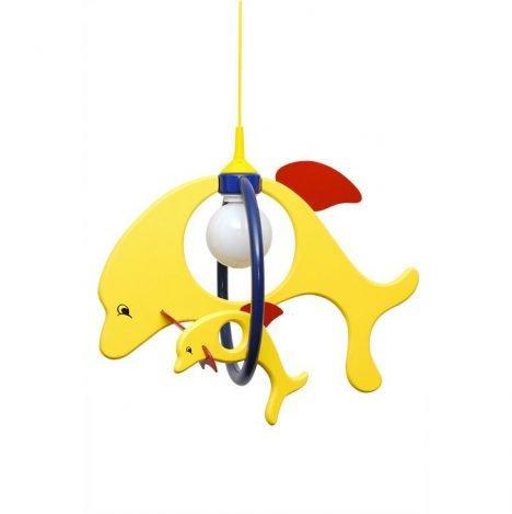 Oświetlenie sufitowe – Lampa Delfin 1 duży 1 mały