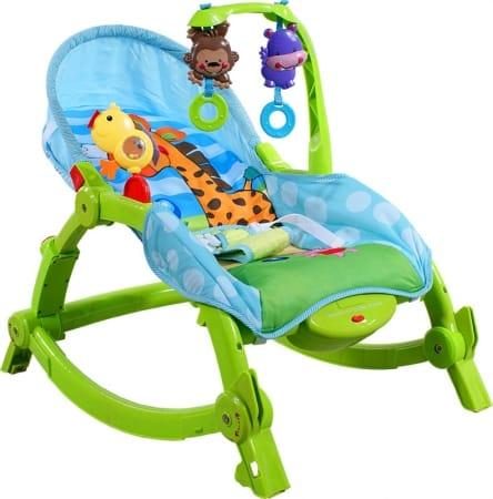 Leżaczek ARTI Edu Soft-Play 971 Green Giraffe