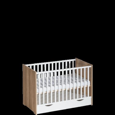 Łóżeczko niemowlęce 120-60 – Terra 2