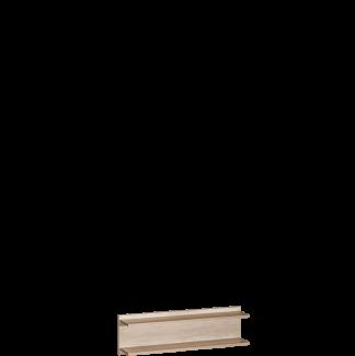 Półka na ścianę dwupoziomowa Terra 2