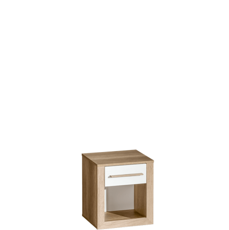 Szafka nocna z półką i z szufladą – Terra 2