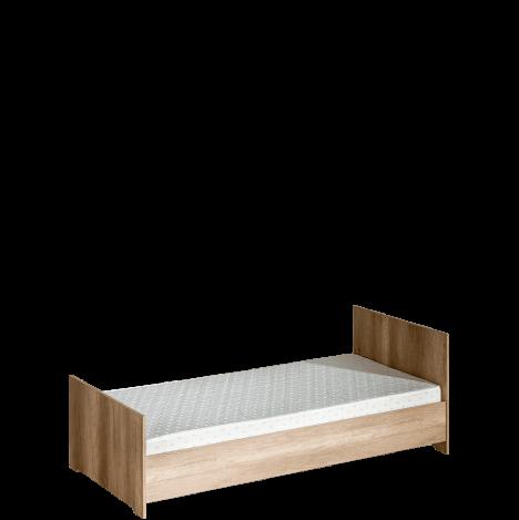 Jednoosobowe łóżko bez materaca 200×90 – Terra 2