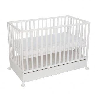 Łóżeczko dziecięce 120x60 z szufladą LUX