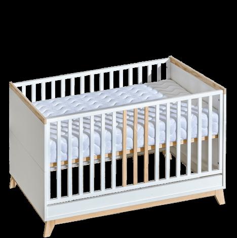 Łóżeczko 140×70 z przebudową – Nordik