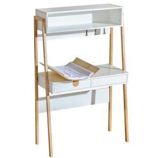 Biurko do pokoju dziecięcego z regulowanym blatem i przewijakiem Yeti