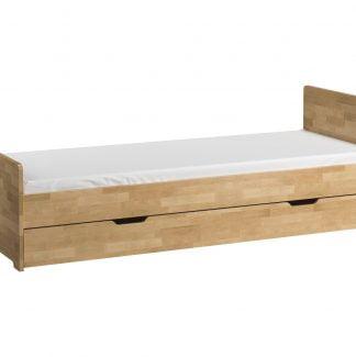 Łóżko do pokoju młodzieżowego 80x200 z wysuwaną szufladą Betula