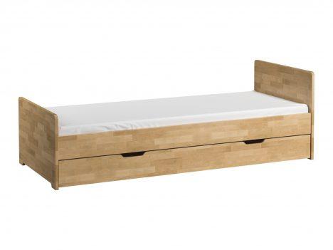 Łóżko 200×80 z wysuwaną szufladą – Betula