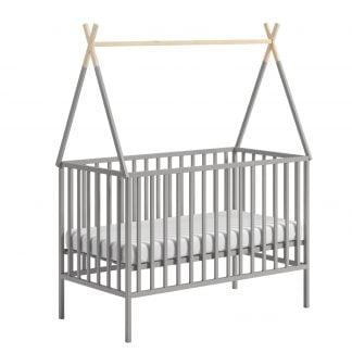 Łóżeczko niemowlęce 120x60 Tipi
