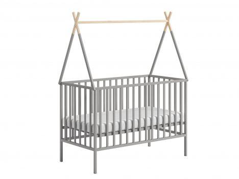 Niemowlęce łóżeczko 120×60 – Tipi