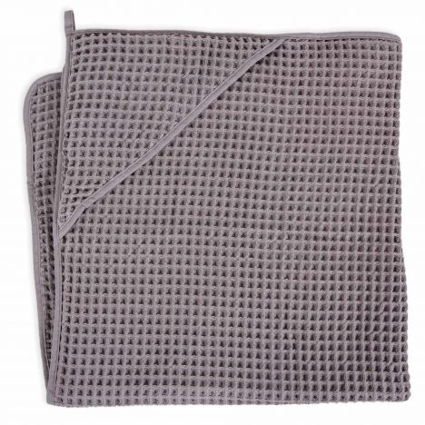 Ręcznik dla niemowlaka Waffle Line Ash 100×100