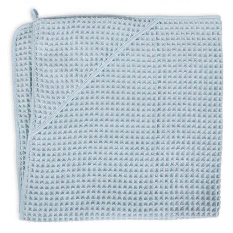 Ręcznik dla niemowlaka Waffle Line Mist Blue