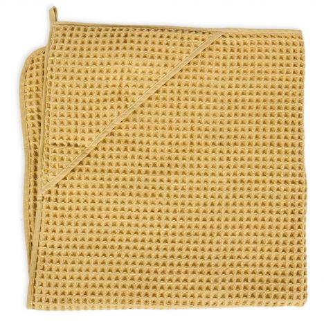 Ręcznik dla niemowlaka Waffle Line Cream Gold 100×100