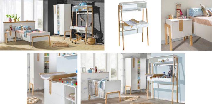 Kolekcja mebli niemowlęcych Yeti polski producent ATB Meble