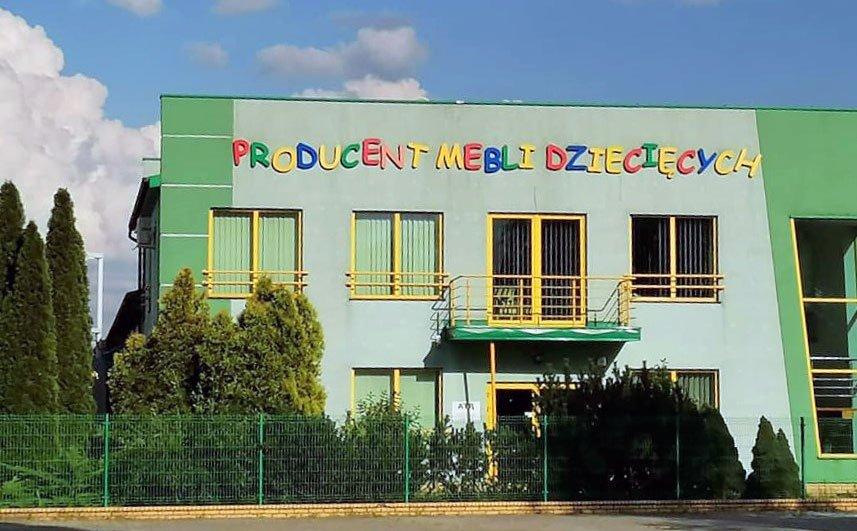 ATB Meble polski producent mebli dziecięcych, zdjęcie budynku siedziby